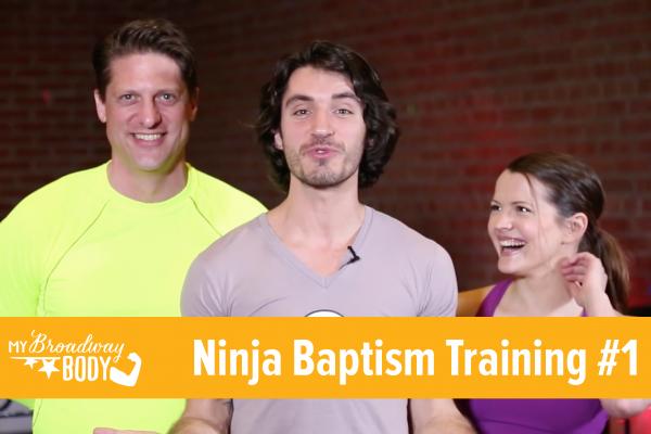 MBB Ninja Baptism Training 1