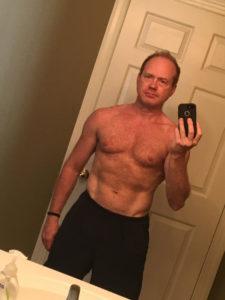 Craig Meyer 'after' selfie